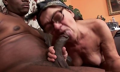 Fabulous pornstar in greatest interracial, facial porn gig