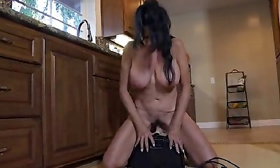 Freaks of Nature 194 Big Mature Melons on Sybian Saddle