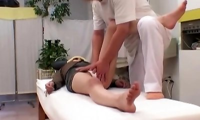 Caught On Gauze! 2 Spill Behind-the-scenes Moments With Head Therapist Manipulative Perv