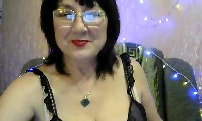 Sweet glasses mom