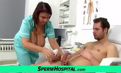 Huge inborn tits doc Eva at dirty clinic