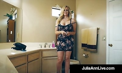 The Hottest Milf In Pornography Julia Ann Bangs A Total Porno Newbie