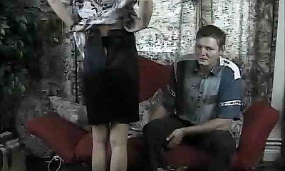 Glorious Amateur Housewife Fucks Her Hubbys Homie !