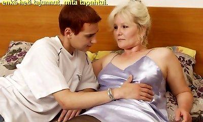 Slideshow with Finnish Captions: Mom Lena 2