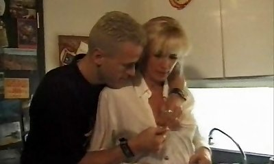 Swinger Family fuckig dad Son's pal and mother