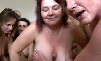 Amazing Mature Harem Sex