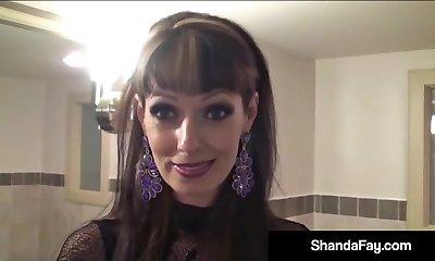 Sex Crazed Milf Shanda Fay Gets a Big Rigid Wood From Hubby