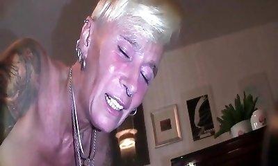 My Sexy Piercings Pierced slave 2 hand donk handballing