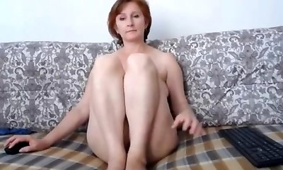 Russian momma fine tits and lovely coochie