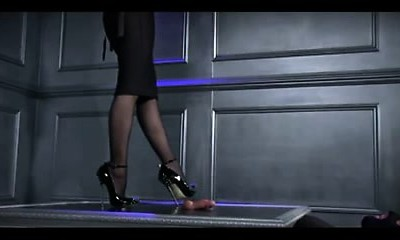 Mummy Assistant CBT Heels. see pt2 at goddessheelsonline