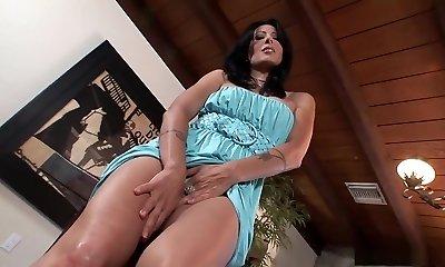 Incredible porn industry star Zoey Holloway in horny solo, masturbation pornography movie