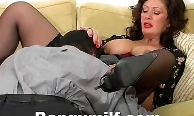 Hardcore mature boinked with big cock