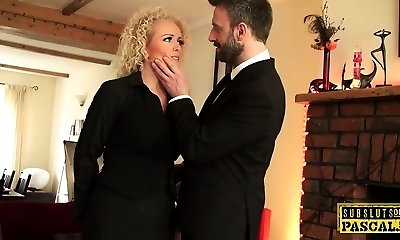 British realtor ass fucked by raunchy maledom