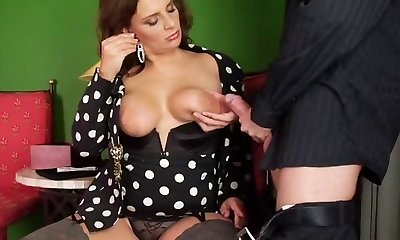 Big-chested German Mature-trasgu