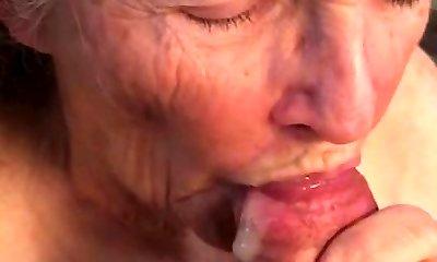 Grandma goes long