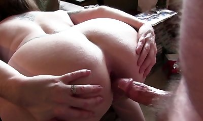 hot mature leaning over for getting her ass boinked