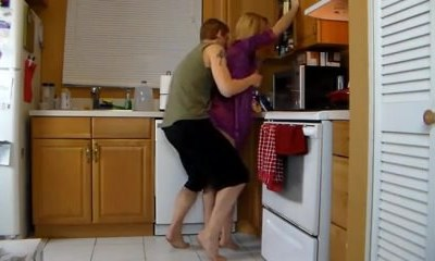 Ravaging Mom In The Kitchen