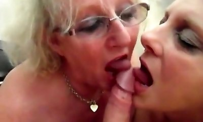 Grandmas swap cum