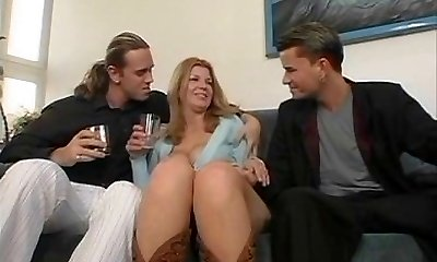 Susanne - Mom fucked by two youthful boys