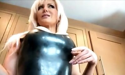 Best Mom Leather Heels Smoking See pt2 at goddessheelsonline