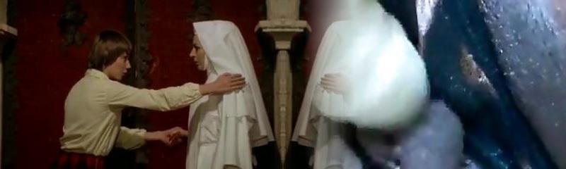 Nun seduced girly-girl!
