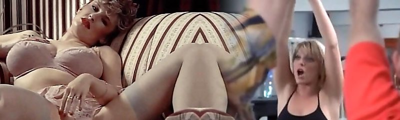 Underwear DAYDREAM - vintage 80's gigantic tits in stockings
