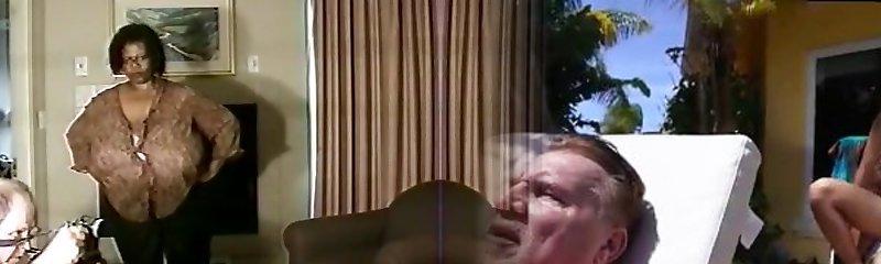 Wondrous  Big Butt, Lingerie xxx clip