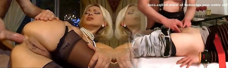 Wealthy blonde deep-throat the guy after cumming