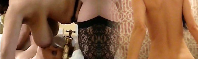 Vintage big tits step mom hardcore