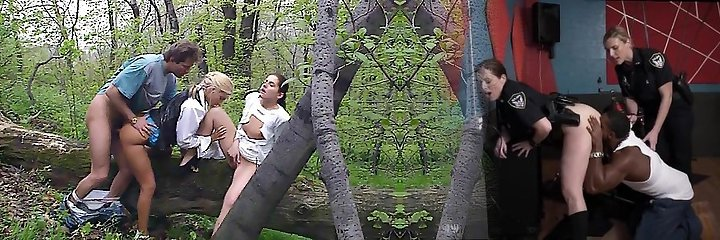 Private Movie Magazine threesome in the Anal Park