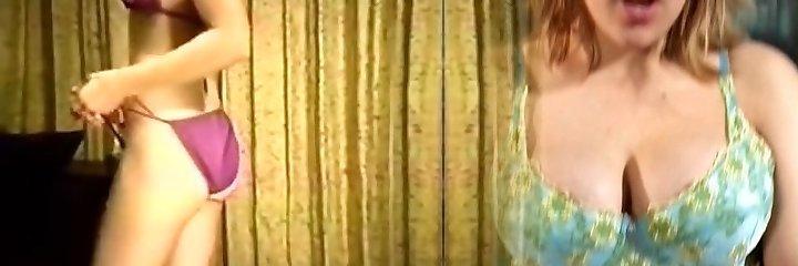 Kris Dancing And Taking Off Her Bikini
