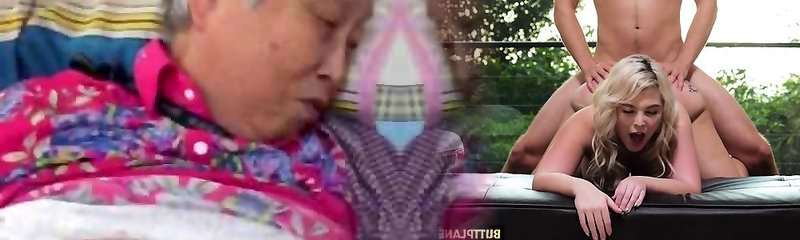muy bonito chino de la abuelita llegar a la mierda