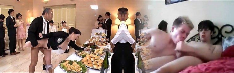 ondeugende aziatische huwelijk