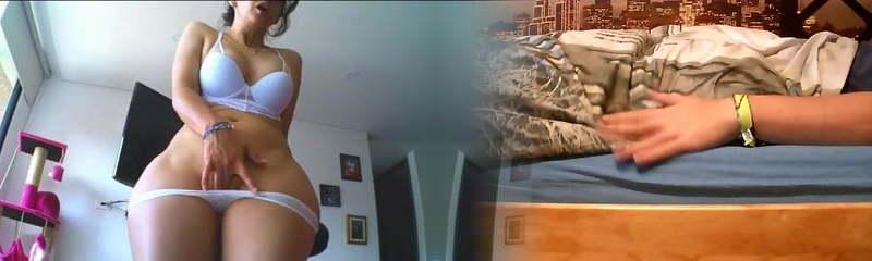 madura y con curvas vanessa se masturba en webcam
