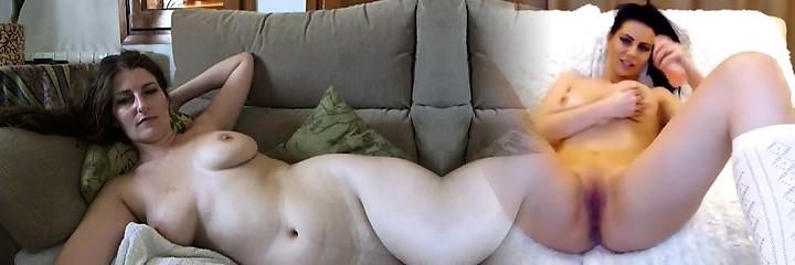 tetona madura morena con tetas grandes y coño peludo tiras