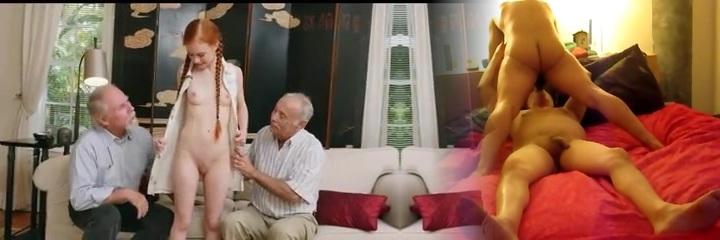 ergen redhair kız ile yaşlı adam