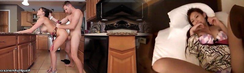 levi munt stoeit zijn verse gf is mama raven lechance in de keuken