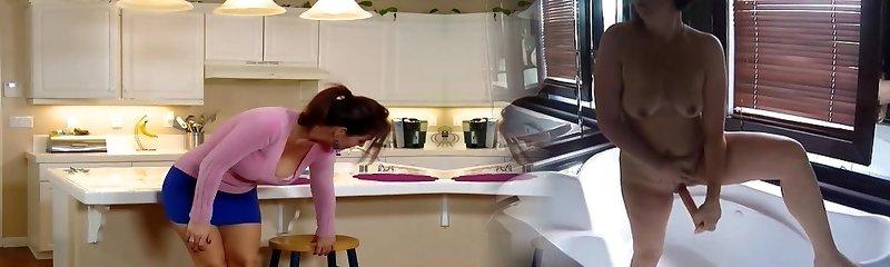 bir mumya, mutfak masası