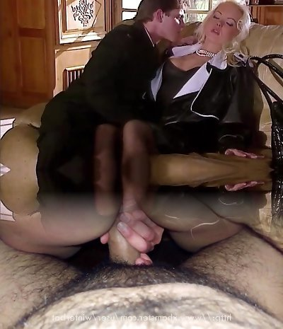Silvia Saint Smashes the Lawyer and Wanks His Cum