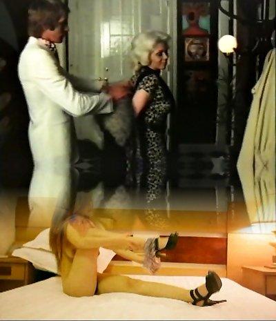 Blonde milf has fucky-fucky with gigolo - vintage