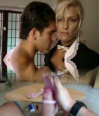TT Boy pumps out his wad on light-haired milf Debbie Diamond