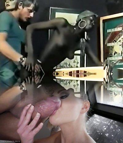 Hottest Black and Black, Vintage porn scene