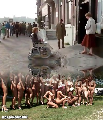 Hottest pornstar in kinky celebrities, vintage adult clip