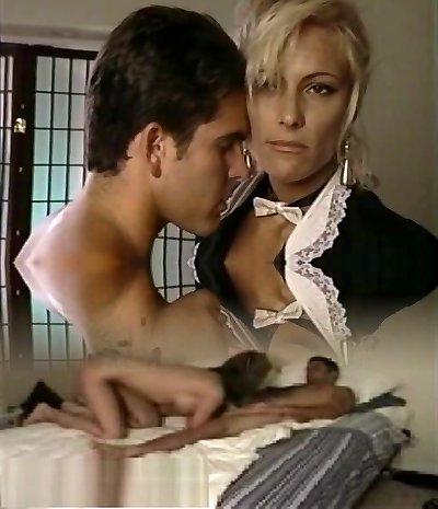 TT Boy splatters his wad on light-haired milf Debbie Diamond
