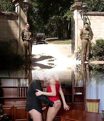Lisa Crawford- Soldiers screw the G�n�ral Wifey