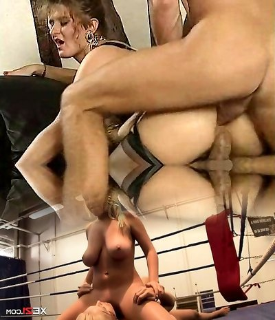 Nikki Platts - Mature Lady and Two Cocks