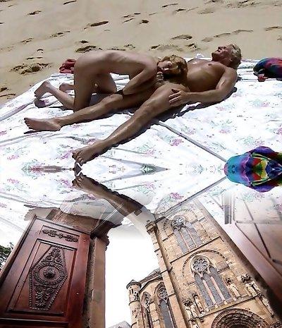Beach Sex Episode from Retro Movie  hard-core