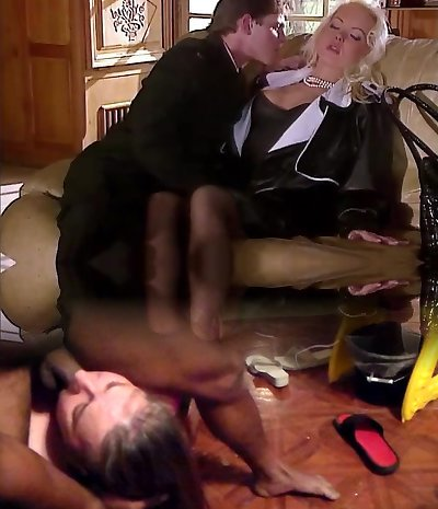 Silvia Saint Screws the Lawyer and Strokes His Cum