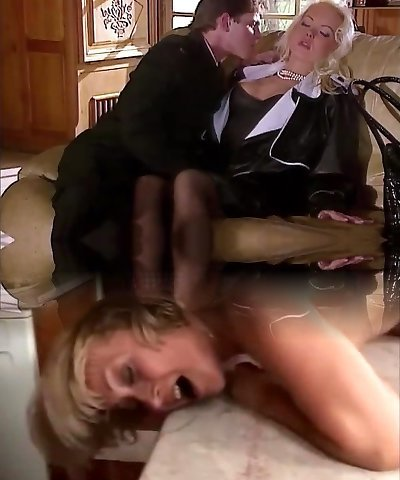 Silvia Saint Pulverizes the Lawyer and Drains His Cum