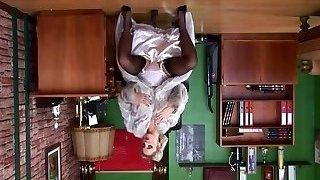 Tweak Up Girl Pantyhose, Louboutins & Fur